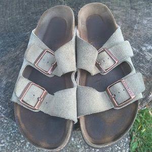 🔥BIRKENSTOCK ARIZONA ladies suede leather sandals